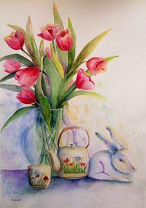 Tulips Easter - Mahjabin