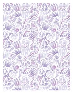 Soft Purple Watercolor Pattern
