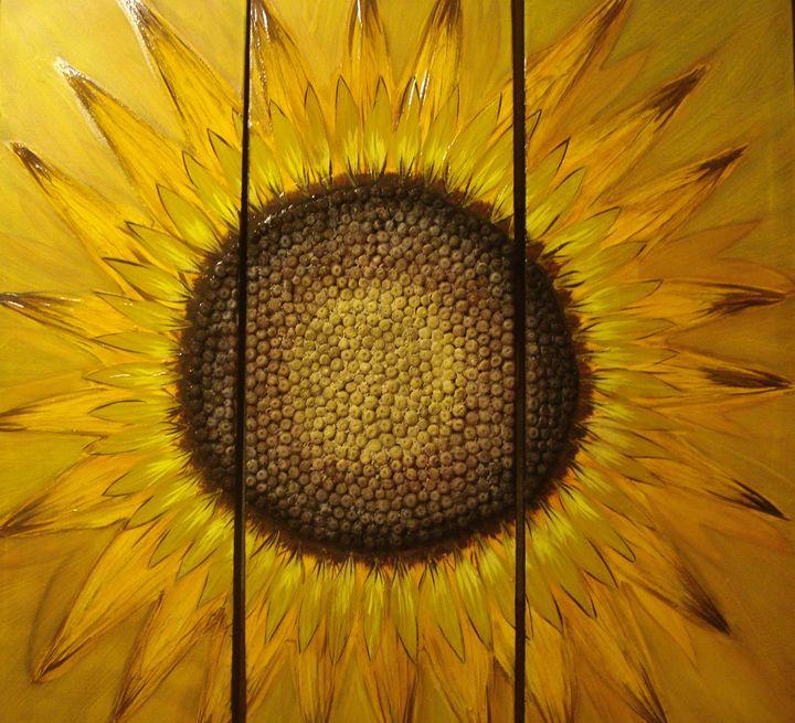 Sunflower - Aida VegART