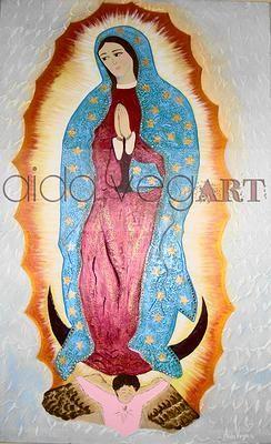 Virgen De Guadalupe - Aida VegART