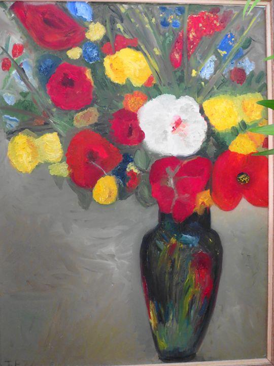 summer flower bouquet - L'Orangerie