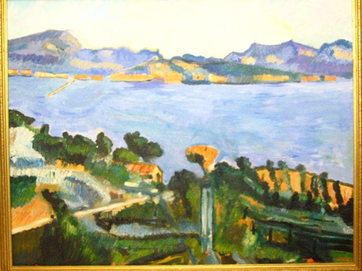 Marseille L'estaque copy - L'Orangerie