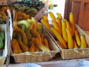 yellow Zucchinis. - L'Orangerie