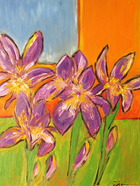 blue Iris - L'Orangerie