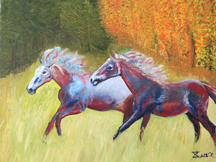 horse in the Fall - L'Orangerie