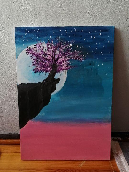 The tree on the top - Sıla art