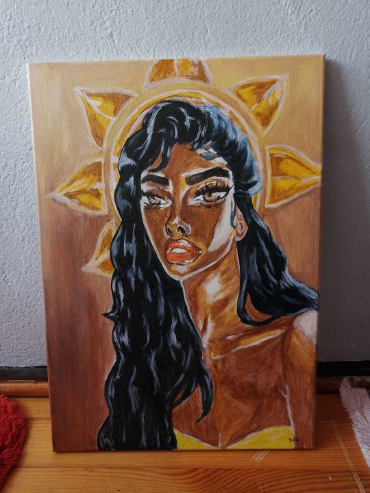 Goddess of the sun - Sıla art