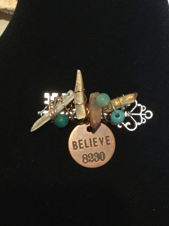 BELIEVE  pin/ brooch - Terralee Designs