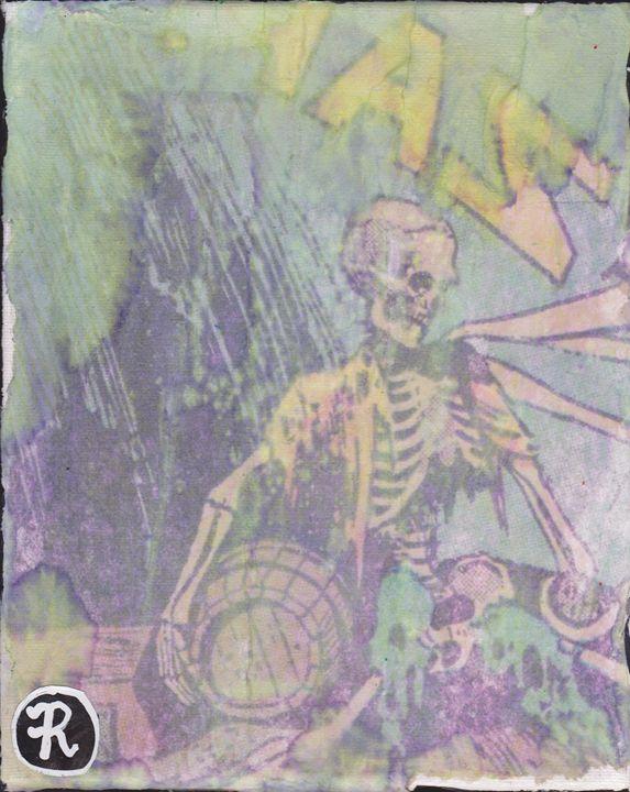 Skeleton Toy - Ryan J. Boyd Gallery