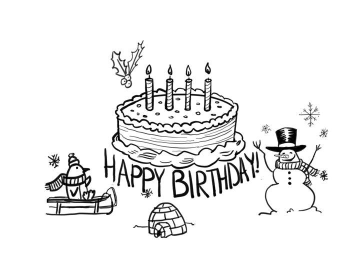 Winter birthday - Katie irwin