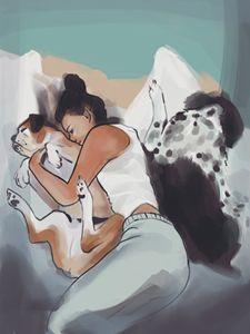 Cuddles - Katie irwin