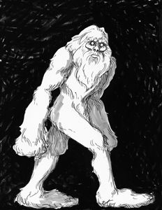 Sasquatch portrait
