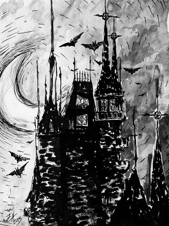 Dracula's Castle - Jeanette Andromeda