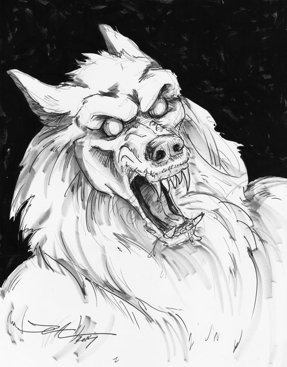 Portrait of a Werewolf - Jeanette Andromeda