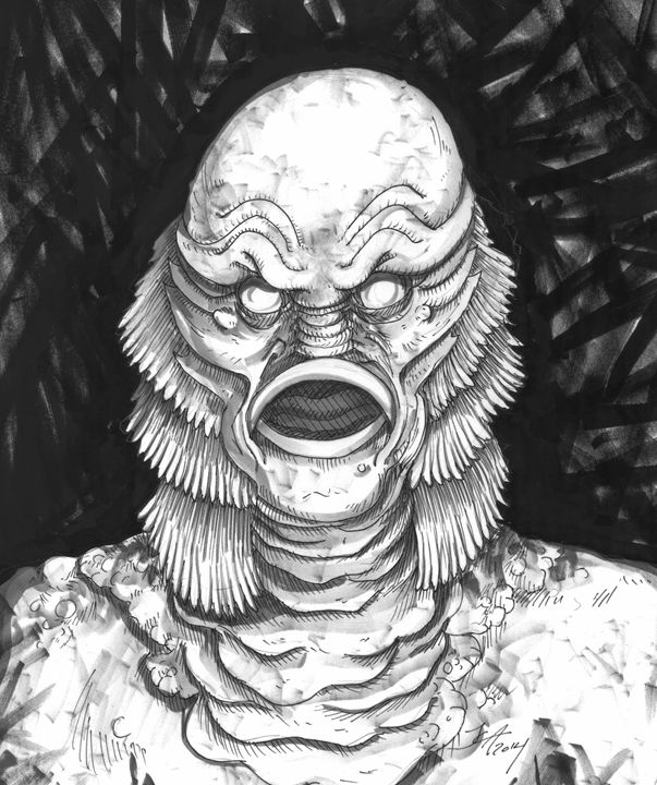 Creature from the Black Lagoon - Jeanette Andromeda