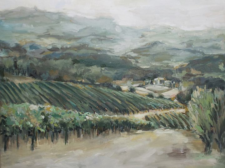 Vineyard Landscape - Jaimee Dawn Fine Art