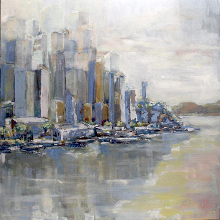 The Foggy City - Jaimee Dawn Fine Art