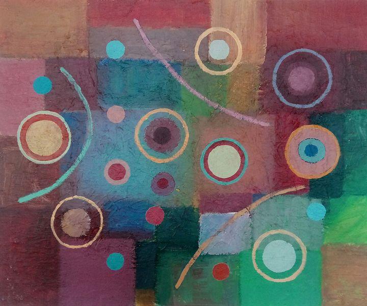 Fields and stars No. 2 - Scrocchia