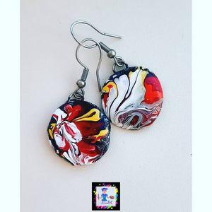 """Petals"" earrings"