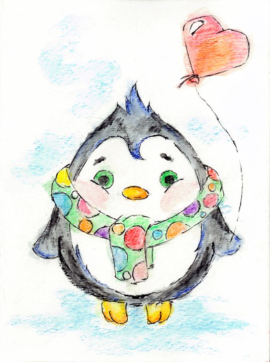 Cutie The Penguin -  Nikolayvoronchuk