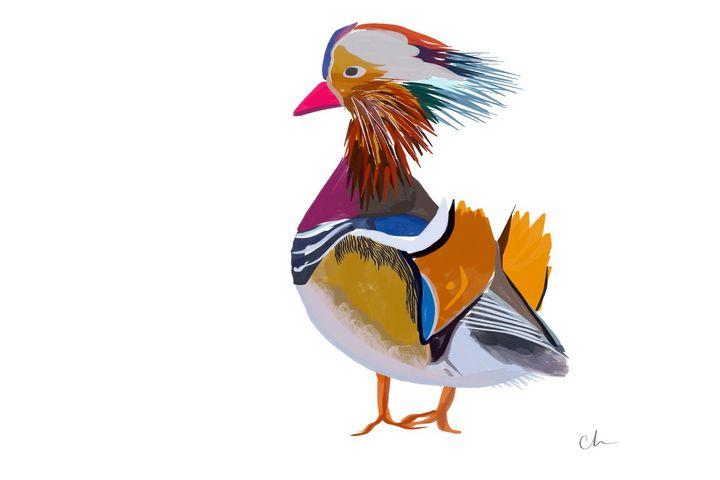 Ah, look at the ducks - Clara Hatcher