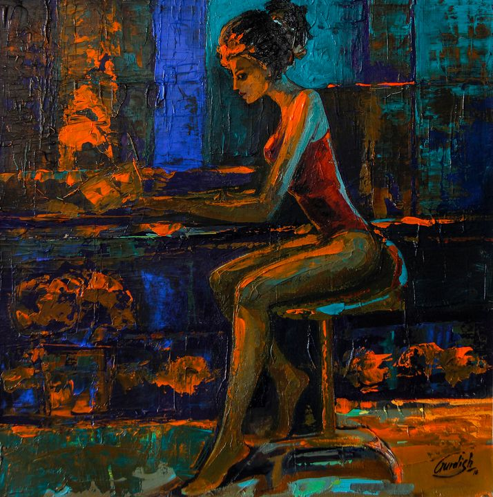The light behind her window 1 - 100 BEST PAINTINGS