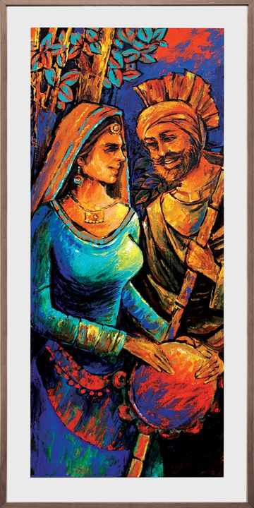 The colors of punjabi - 100 BEST PAINTINGS