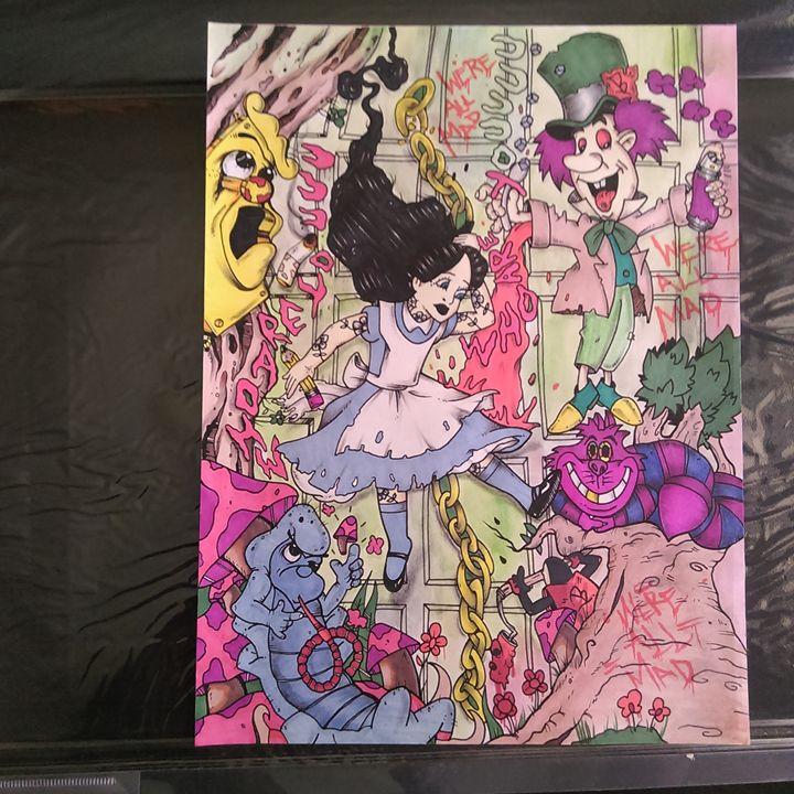 Alice In Wonderland Part1 - BNOEARTS