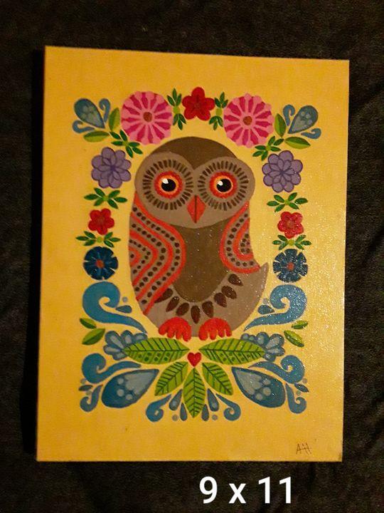 Owl - Crazy lady's art