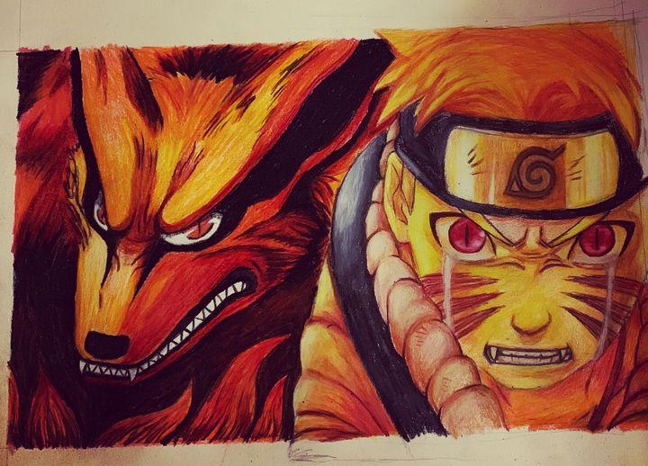 Naruto and The Nine Tailed Fox - Mariah Ratajek