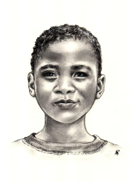 Grin from Zimbabwe - Imago Custom Artwork