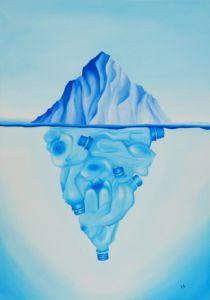 Tip of the Iceberg - Liesbeth Johnson-Kampen Surreal Art