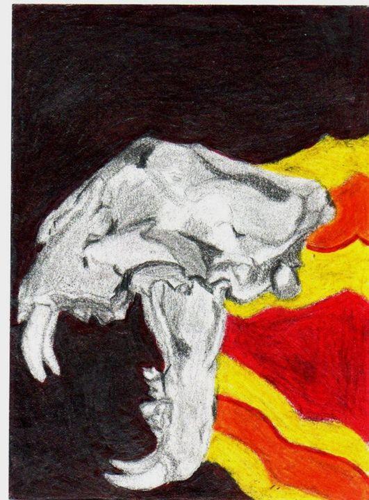 Attacking Skull - Artistic Passion