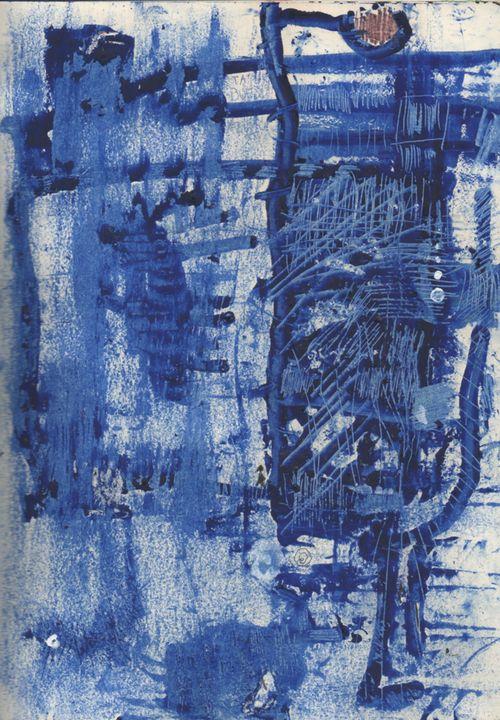 três conceitos azuis - Luna Ramos