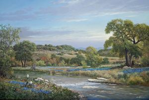 Hill Country Spring - George Kovach