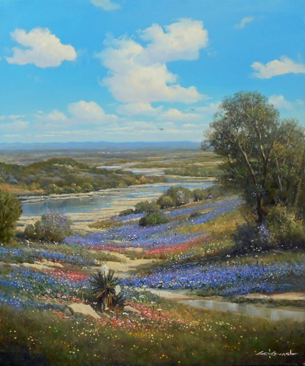 Under Texas Skies - George Kovach