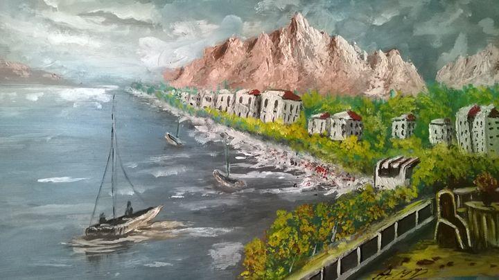 By The Beach - Ahmad Almasri