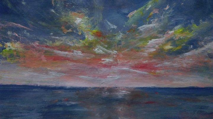 sunset - Ahmad Almasri