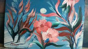 moon  flowers - Ahmad Almasri