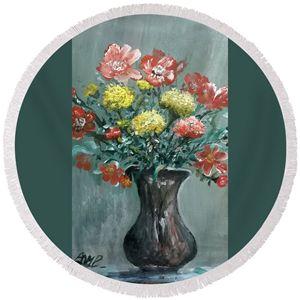 vase flowers - Ahmad Almasri