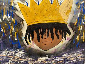 Colorful Black King