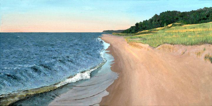 Lake Michigan - Mike Larson Art
