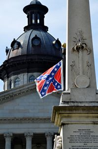 Confederate Flag's Last Day