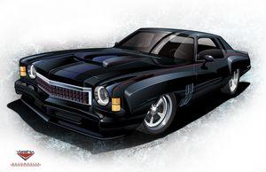 Custom 1973 Monte Carlo
