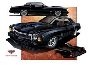 1973 Monte Carlo Custom Concept
