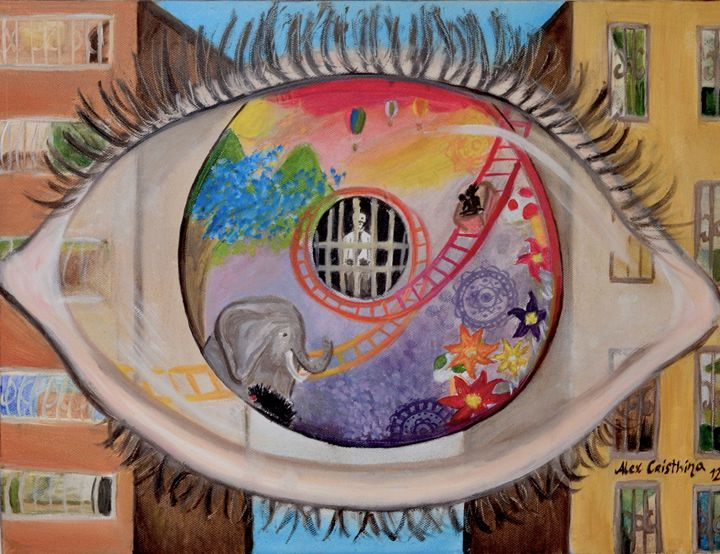 Desde adentro hacia afuera - Alex Cristhina Sunflower