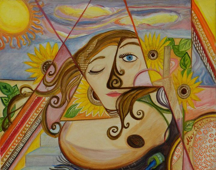 Girasol - Alex Cristhina Sunflower