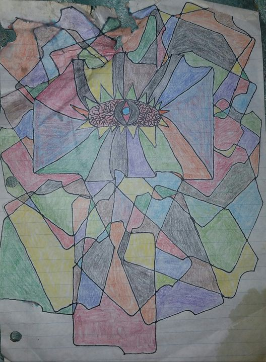 Abstractly drawn - James M Griffin