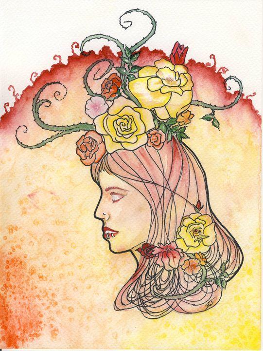 Blind Rose - Tíria Bagó-Obrusánszki