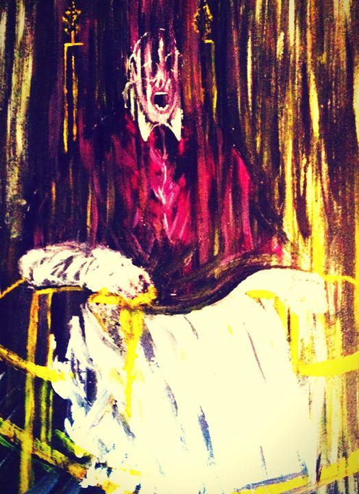Eyry figure - Sarah's original artwork